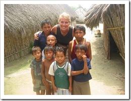 Marcie Lynn and kids