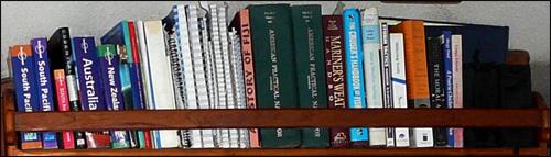 Tackless II bookshelf