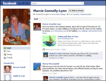 Marcie on Facebook