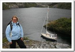 Beth Leonard in Patagonia