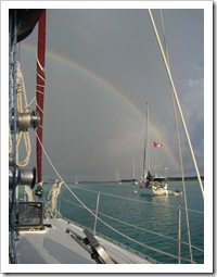 The already contemplative nature of sailing is complemented by a practice of meditation