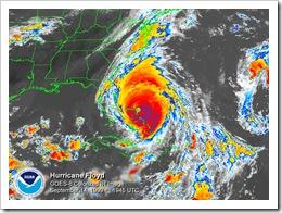 Hurricane Floyd 1999 09/14 at 1945utc