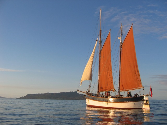 Lista Light Our 75 Year Old Wooden Sailing Boat