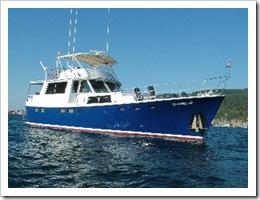 Cloverleaf - a 60 foot motor boat