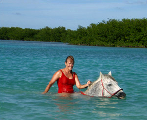 Riding in Bonaire