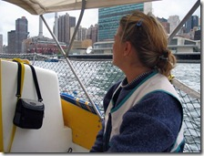 Sailing thru NYC