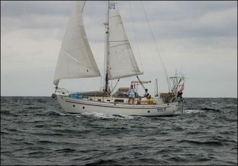 Gunner Too underway off mainland Mexico