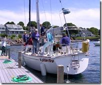 NWSA docking practice