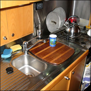 Sink Cover In Place