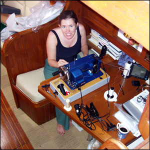 Megan's skills were invaluable on both cruises.