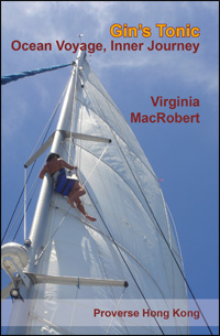 Front cover of Gin's Tonic, Ocean Voyage, Inner Journey by Virginia (Ginni) MacRobert