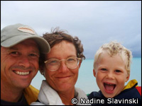 Nadine Slavinski and family