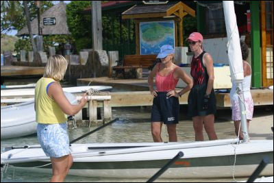 Women on the Water Week. Photo from the Bitter End Yacht Club website www.beyc.com