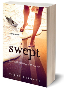 'Swept: Love With a Chance of Drowning' - Book Cover - Photo from www.sweptbook.com