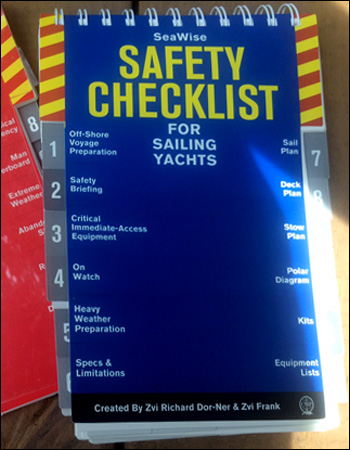 Safety Checklist for Sailing Yachts side
