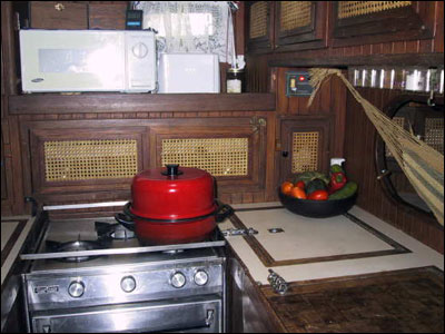 Camryka's galley