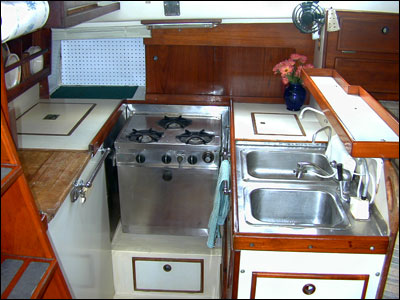 Refit Your Galley Learn From The Experience Of 12 Cruising Women