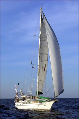 s/v Tackless II